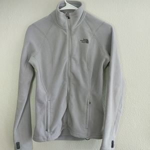 The North Face Women's Gray Fleece Jacket Size XS